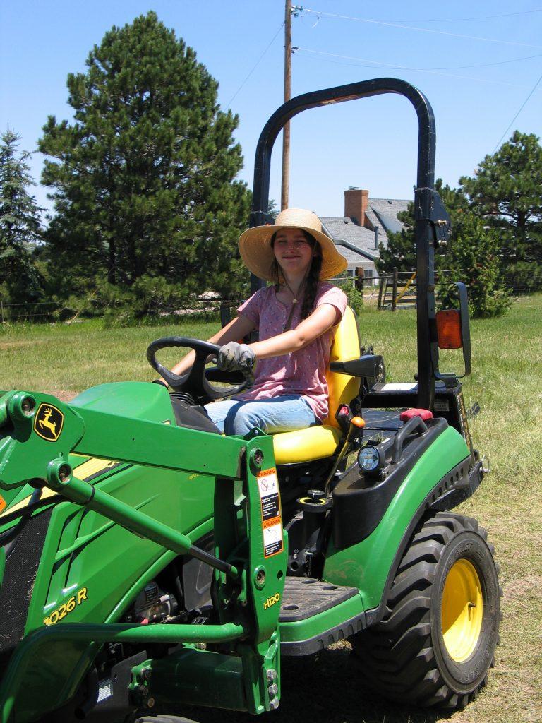 John Deere 1026R tractor