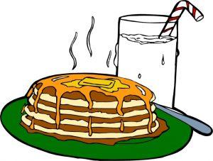rhubarb pancakes recipe
