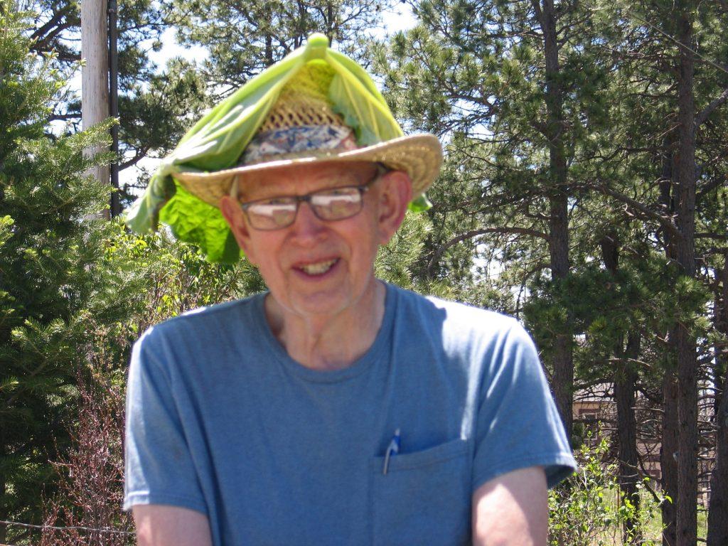 rhubarb hat