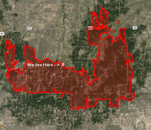 Fire consumed over 15,000 acres and almost 500 homes. 2 lives were lost.